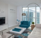 [Image: Brickell's Prime Location. Between River & Biscayne Bay. Gorgeous. Free SPA, WI-FI]