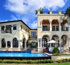 [Image: Villa Stella. Mediterranean charm and the finest amenities amidst the privacy of Palm Island. 5BD/5B]