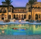 [Image: Villa Contenta. Superbly luxurious Miami villa rental on exclusive Palm Island with full five - star]